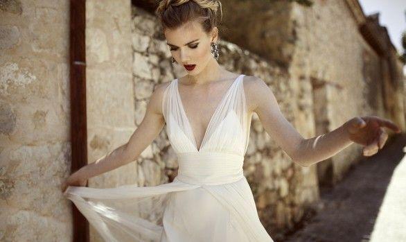 La novia elegante